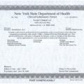 NYSDOH Clinical Lab Permit_Exp 2020-06-30