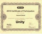 2019 Unity Certificate of Participation