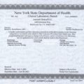 NYSDOH Clinical Lab Permit_Exp 2021-06-30