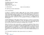 Ascend CLIA 05D0592241 Survey Letter